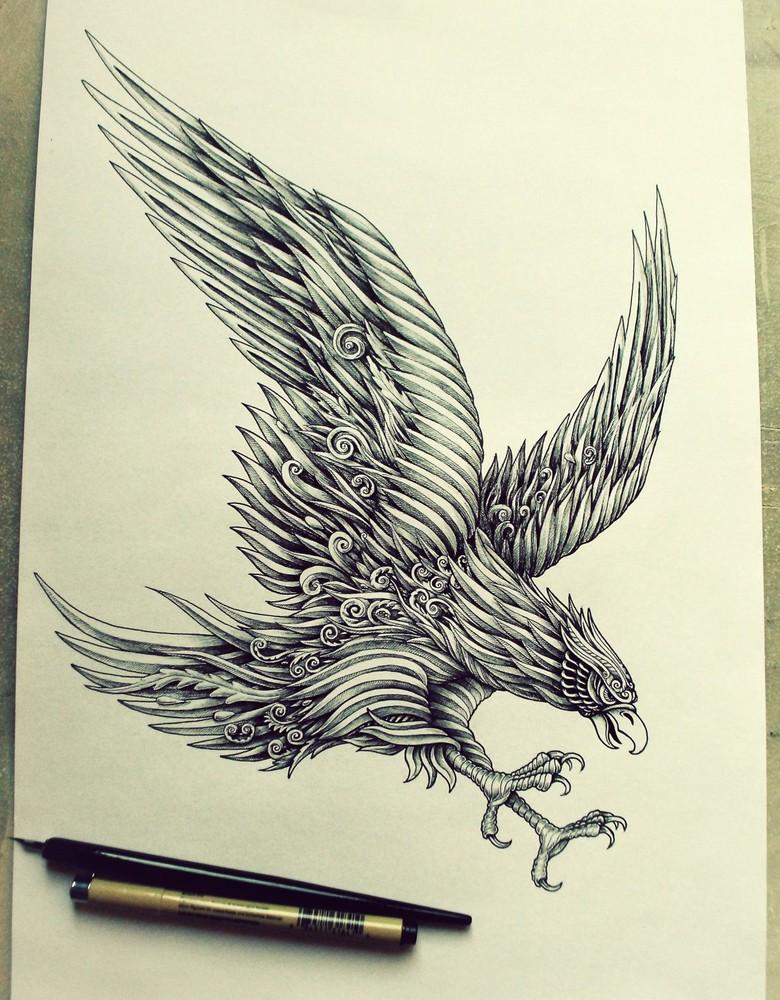Line Art by Alex Konahin