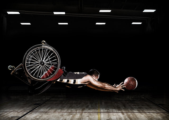Rob Gregory, United States. Professional; Campaign. These images were created for the Rehabilitation Institute of Chicago's adaptive sports program and the RIC Hornets wheelchair basketball team. (Photo by Rob Gregory/Sony World Photography Awards)