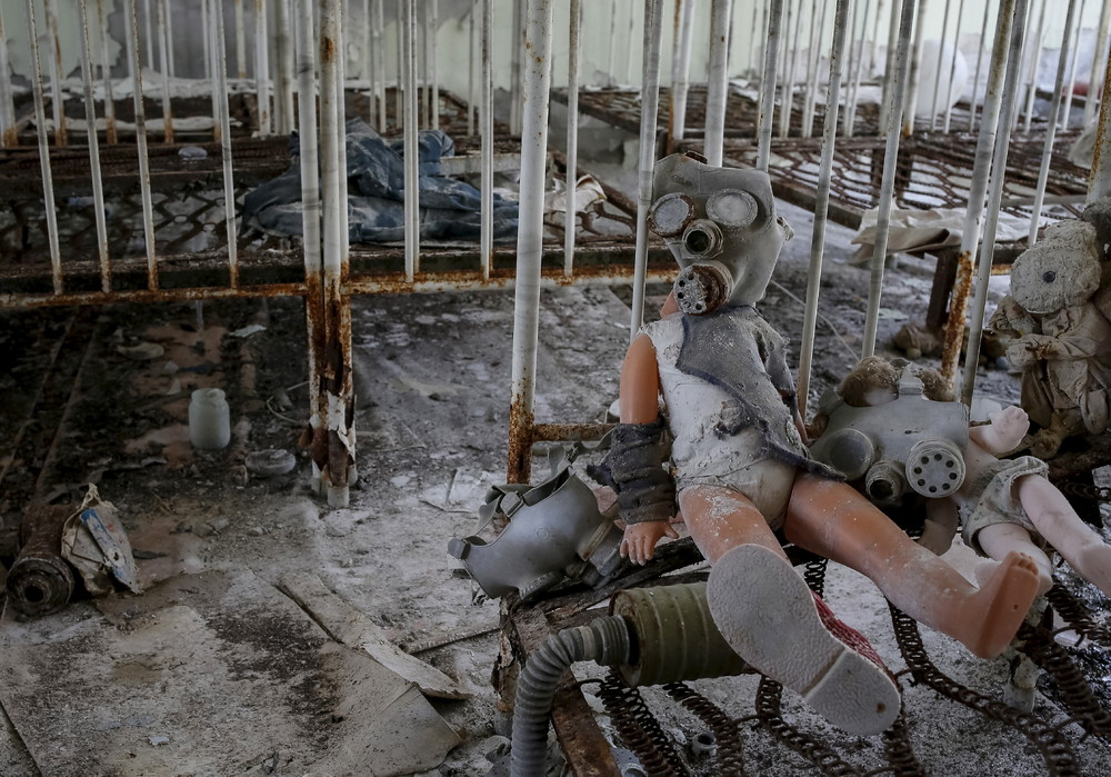 Haunting Images from Chernobyl