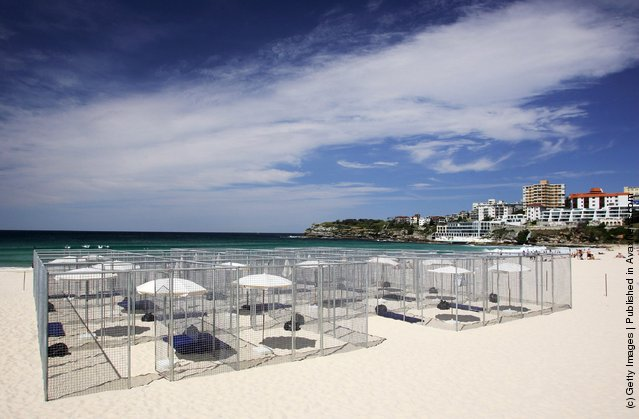 Bondi Beach Art Installation By Gregor Schneider