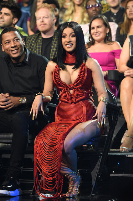 Cardi B attends the 2019 MTV Video Music Awards at Prudential Center on August 26, 2019 in Newark, New Jersey. (Photo by Kevin Mazur/WireImage)