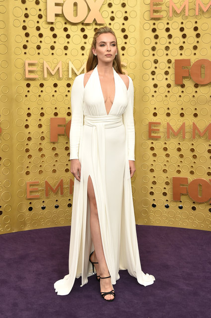 Jodie Comer attends the 71st Emmy Awards at Microsoft Theater on September 22, 2019 in Los Angeles, California. (Photo by John Shearer/Getty Images)
