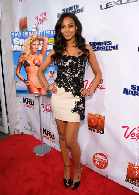 Sports Illustrated Swimsuit model Ariel Meredith attends SI Swimsuit Launch Party