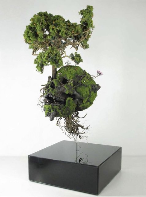 Plant Sculpture By Emeric Chantier