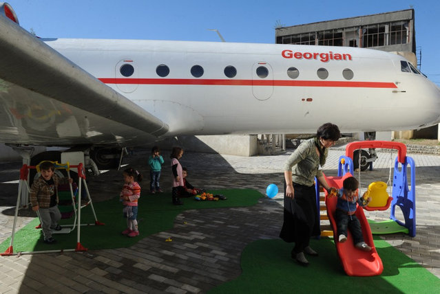 Aeroplane Turned Into Kindergarten