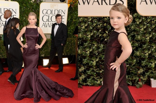 Celebrity Mini-Me's From The Golden Globes
