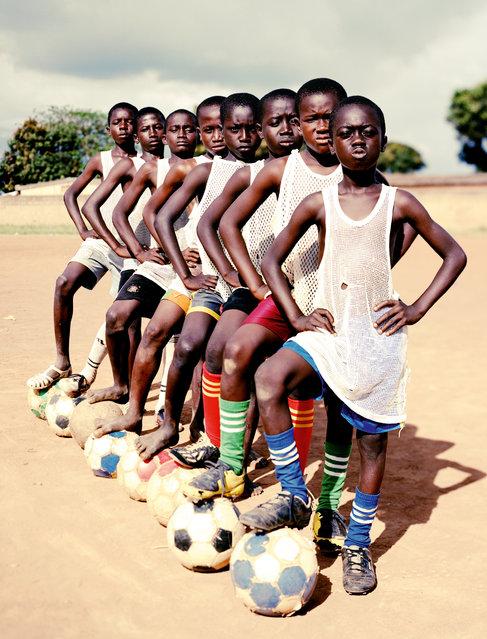 """""""Ivory Coast United"""", 2010. (Photo by Luca Sage)"""