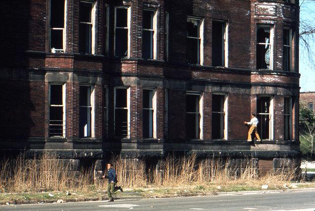 Abandoned building on 37th And Prairie Street. (Photo by John H. White/NARA via The Atlantic)