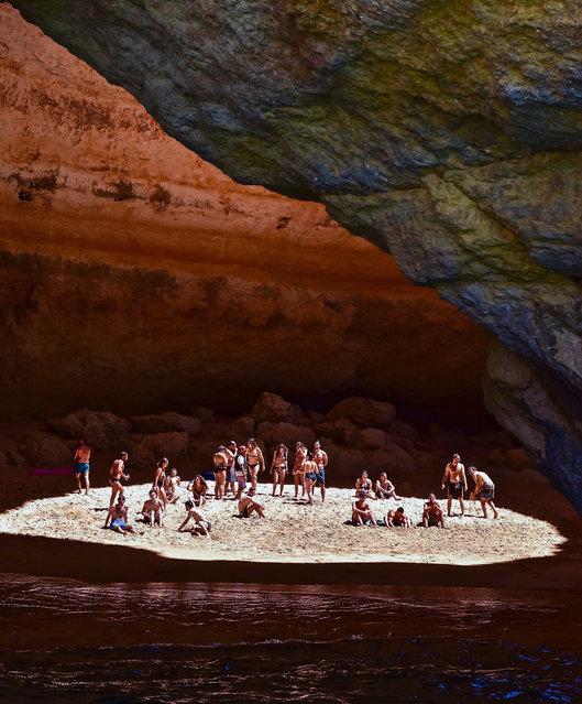 Benagil Cave, Portugal. Travel shortlist. (Photo by @blu3willow)