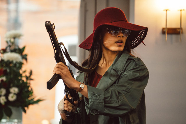 "Freida Pinto as Jas Mitra in Showtime's ""Guerrilla"", 2016. (Photo by Sky UK Limited/SHOWTIME)"