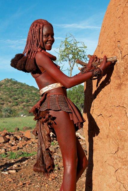 Himba Beauty Girl. Photo by Tim Thornton