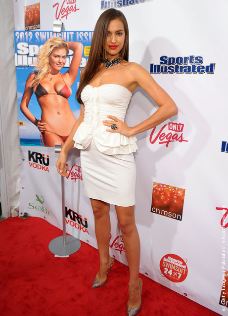 Sports Illustrated swimsuit model Irina Shayk attends SI Swimsuit Launch Party