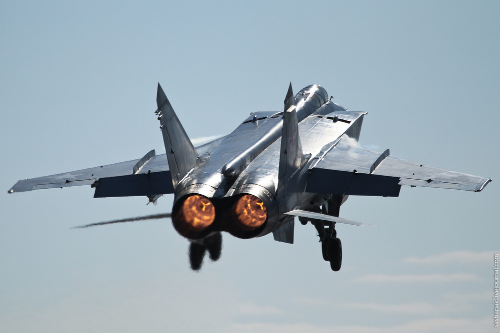 "The Mikoyan MiG-31 ""Foxhound"""