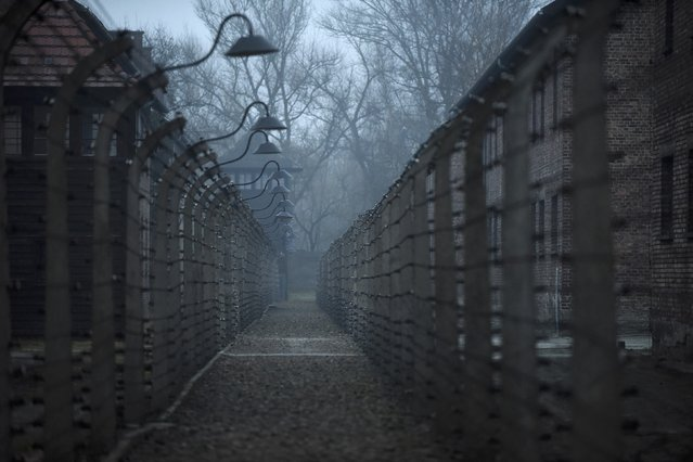 A general view of the former German Nazi concentration and extermination camp Auschwitz in Oswiecim January 19, 2015. Ceremonies to mark the 70th anniversary of the liberation of the camp will take place on January 27, with some 300 former Auschwitz prisoners taking part in the commemoration event. The Germans built the Auschwitz camp in 1940 as a place of incarceration for the Poles. (Photo by Pawel Ulatowski/Reuters)
