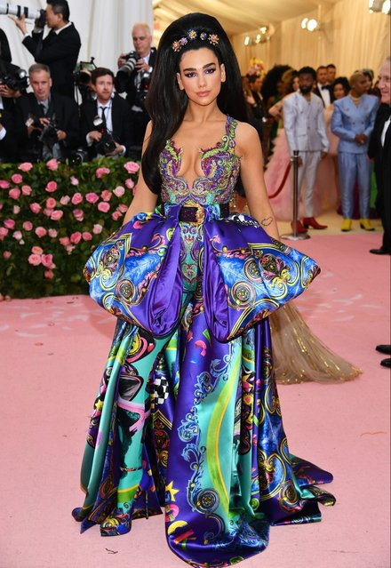 Dua Lipa attends The 2019 Met Gala Celebrating Camp: Notes on Fashion at Metropolitan Museum of Art on May 06, 2019 in New York City. (Photo by Dimitrios Kambouris/Getty Images for The Met Museum/Vogue)