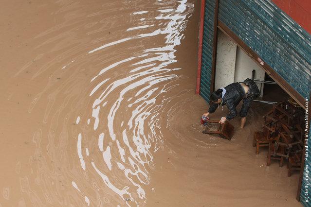 Rainstorm Hits Sichuan
