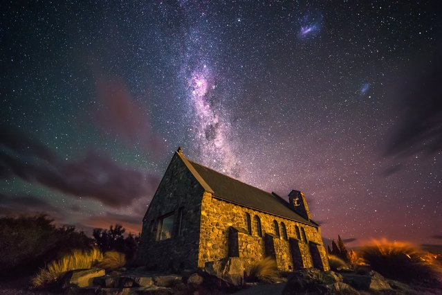 """""""Epiphany """". One of my dreams was it to shoot the night sky when I went on holiday to New Zealand this February. (Photo and caption by Sebastian Warneke/National Geographic Traveler Photo Contest)"""