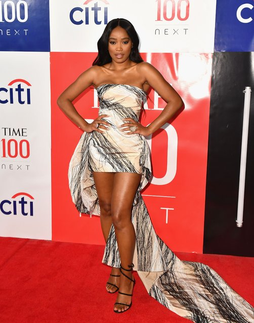 "US actress Keke Palmer attends the First Annual ""Time 100 Next"" gala at Pier 17 on November 14, 2019 in New York City. (Photo by Angela Weiss/AFP Photo)"