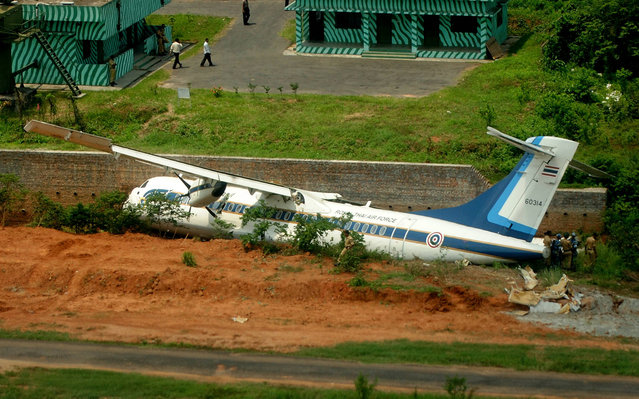 The French manufactured Thai Air-force ATR72-500 that is operated by the Royal Thai Air Force was written off on April 30, 2012 in a crash in Dhaka, the capital of Bangladesh