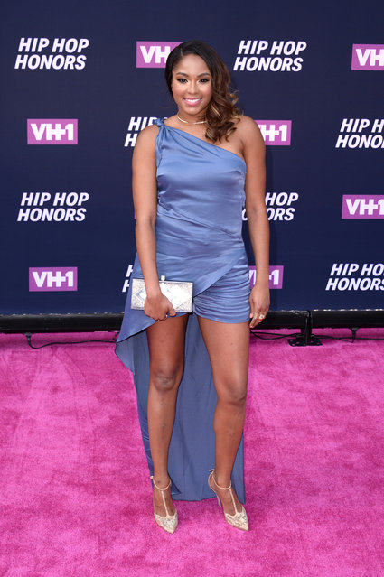 Alicia Quarles attends the 2016 VH1 Hip Hop Honors: All Hail The Queens at Hammerstein Ballroom on July 11, 2016 in New York City. (Photo by Andrew Toth/FilmMagic)