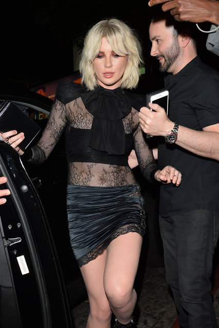 Ireland Baldwin Attends The W Magazine Pre Golden Globe Party in Los Angeles, USA on January 4, 2018. (Photo by  All Access Photo/Splash News and Pictures)