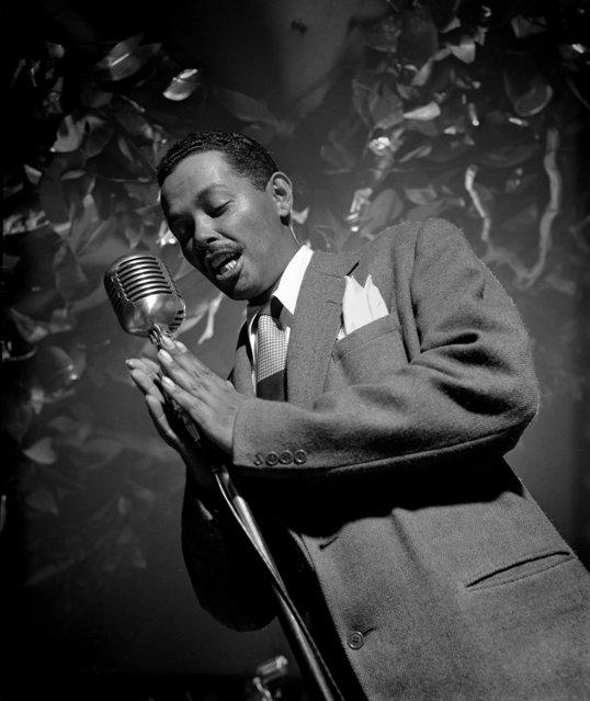 Billy Eckstine, NYC, 1948. (Photo by Herman Leonard)