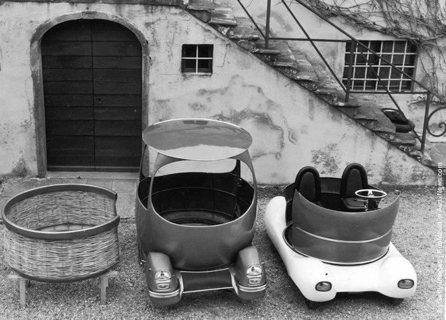 1964:  Urbania, the world's smallest working car