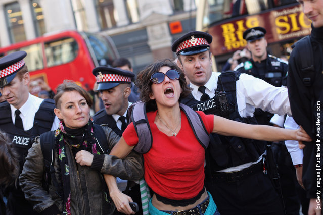 Wall Street Protests In UK