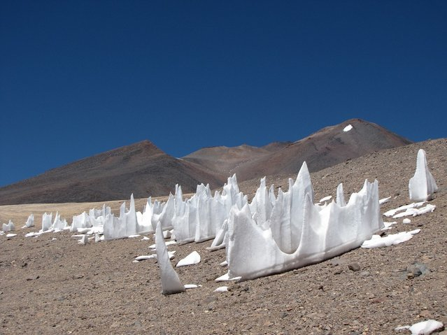The Strange Snow Formations Called Penitentes