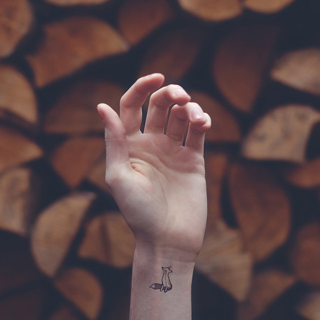 Tiny Tattoos by Austin Tott