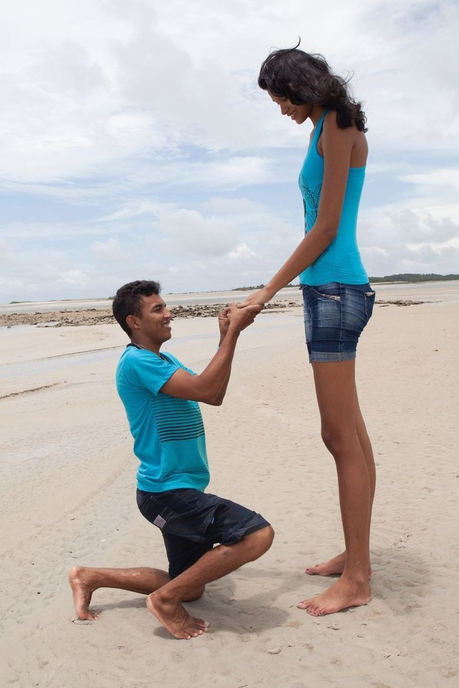 The Tallest Brazilian Teen to Marry