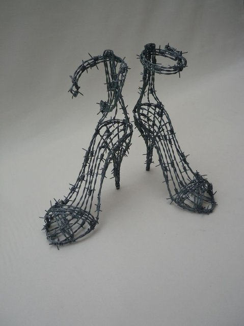 Wire Sculptures By Richard Stainthorp