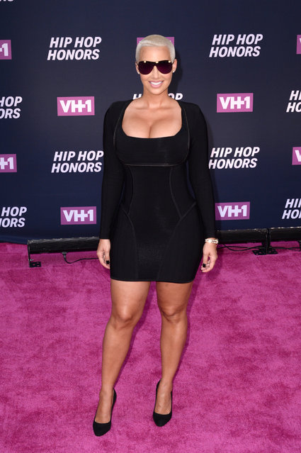 Amber Rose attends the 2016 VH1 Hip Hop Honors: All Hail The Queens at Hammerstein Ballroom on July 11, 2016 in New York City. (Photo by Andrew Toth/FilmMagic)