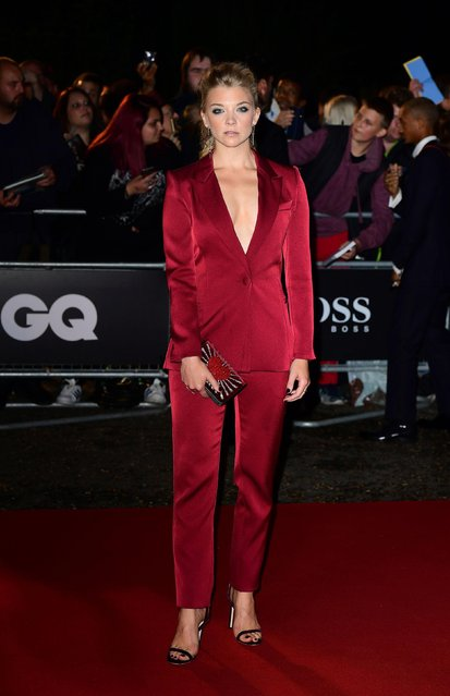 Game Of Thrones star Natalie Dormer attends the GQ Men Of The Year Awards at Tate Modern on September 5, 2017 in London, England. (Photo by PA Wire)