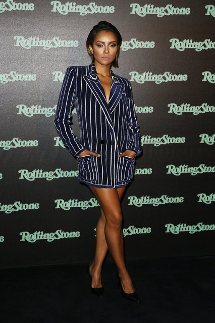 Kat Graham attends Rolling Stone party during Milan Fashion Week Spring/Summer 2018 at on September 24, 2017 in Milan, Italy. (Photo by Ernesto S. Ruscio/Getty Images)