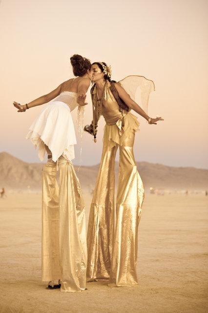 """Burning Man 2010"". (Photo by Tudor Hulubei)"