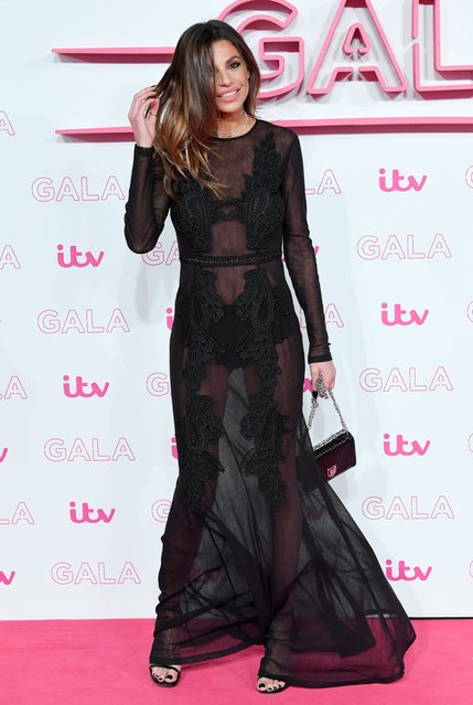 Misse Beqiri attends the ITV Gala at London Palladium on November 24, 2016 in London, England. (Photo by David Fisher/Rex Features/Shutterstock)