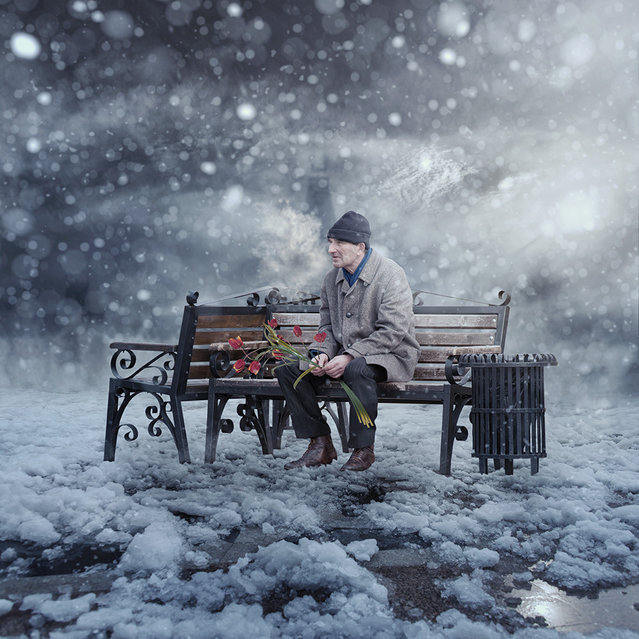 """""""I love you same much as in the first day when i meet you II"""". (Photo by Ionut Caras)"""