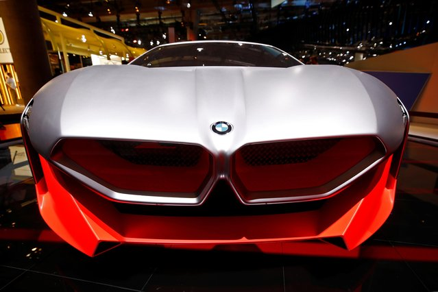 BMW Vision M Next is pictured at the 2019 Frankfurt Motor Show (IAA) in Frankfurt, Germany, September 10, 2019. (Photo by Wolfgang Rattay/Reuters)