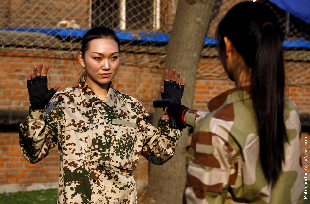 Chinese Female Bodyguard