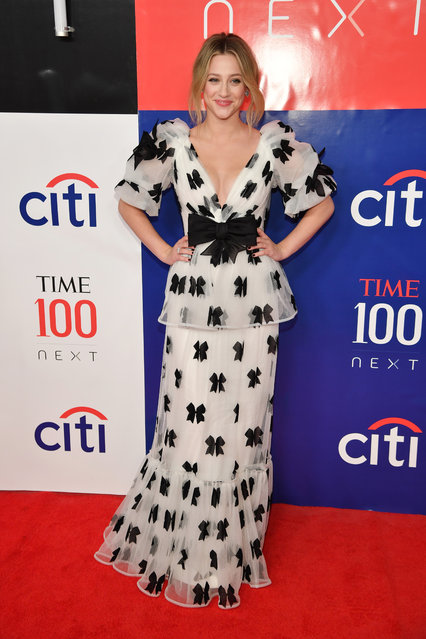 Lili Reinhart attends Time 100 Next at Pier 17 on November 14, 2019 in New York City. (Photo by Dimitrios Kambouris/Getty Images)