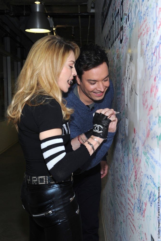 Madonna Facebook Interview With Jimmy Fallon