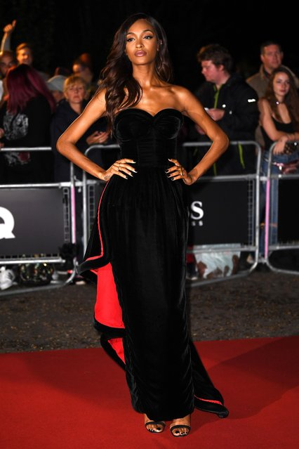 Model Jourdan Dunn attends the GQ Men Of The Year Awards at Tate Modern on September 5, 2017 in London, England. (Photo by James Gourley/Rex Features/Shutterstock)