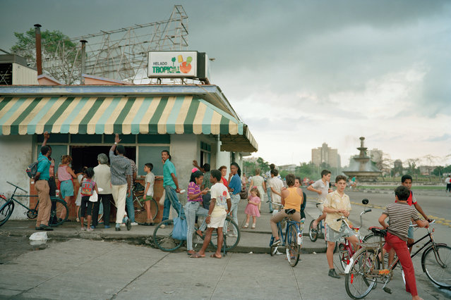 "As an American in 1990s Cuba, Tria Giovan risked being branded a traitor. But the photographer continued to visit and, from the dance hall to the hair salon, she captured the resilient spirit of the Cuban people. The 120 images in Tria Giovan's ""The Cuba Archive"" are from the period in the 90s when, as an American, travel to Cuba could have seen her branded a traitor, as the country was subject to a US trade embargo. Her trip required lots of planning – and patience. (Photo by Tria Giovan/The Guardian)"