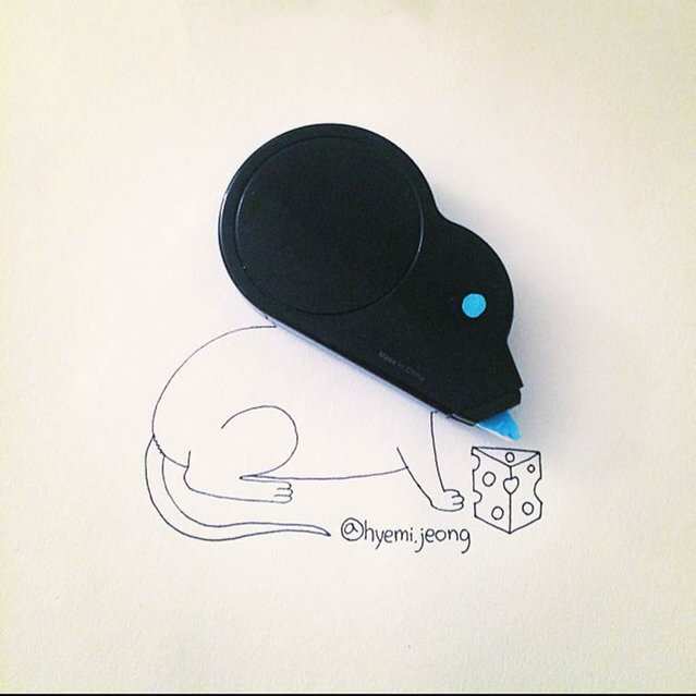 Illustrations From Everyday Objects By Hyemi Jeong Part 2