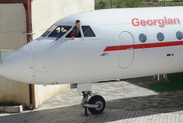 Aeroplane Turned Into Kindergarten