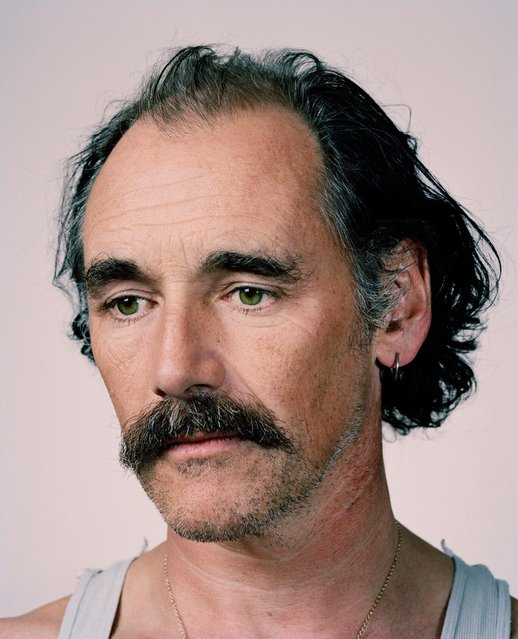 """Mark Rylance"". Taylor Wessing photographic portrait prize 2012. (Photo by Spencer Murphy)"