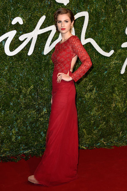 Tali Lennox attends the British Fashion Awards at London Coliseum on December 1, 2014 in London, England. (Photo by Pascal Le Segretain/Getty Images)