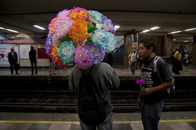 """Metro insurgentes. Juarez, Mexico City, DF, MX"". (Fermìn Guzmàn)"