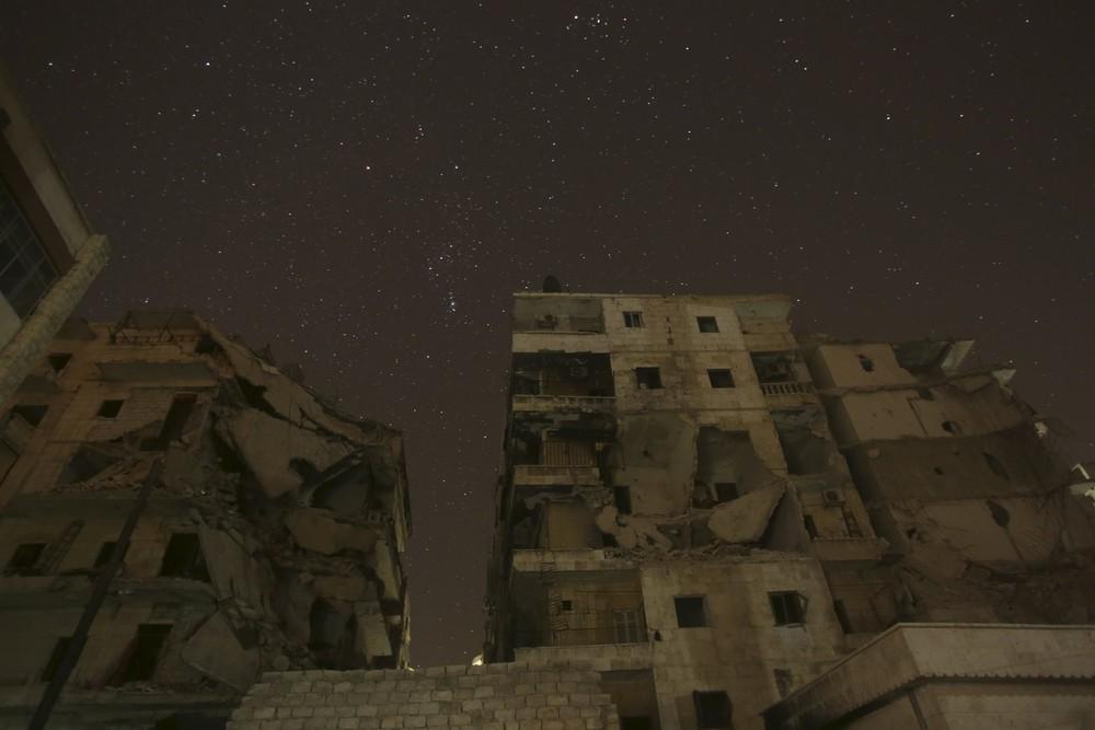 Night Aleppo